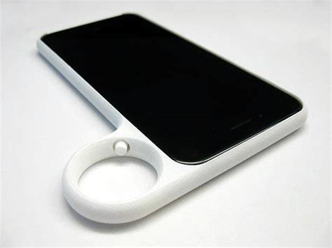 ring my iphone the 3d printed iphone 6 lets you hold your phone with