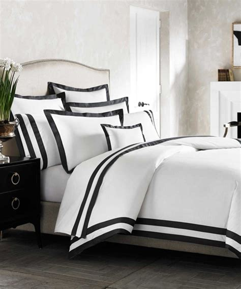 black and white bed linen bed linen outstanding white comforter with black border