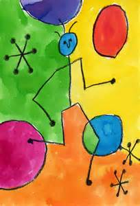 miro watercolor art projects for kids