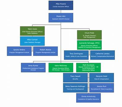Chart Hr Organization Ventura Human Resources County