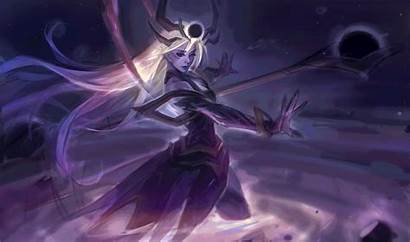 Lux Cosmic Dark Splash Artstation League Legends