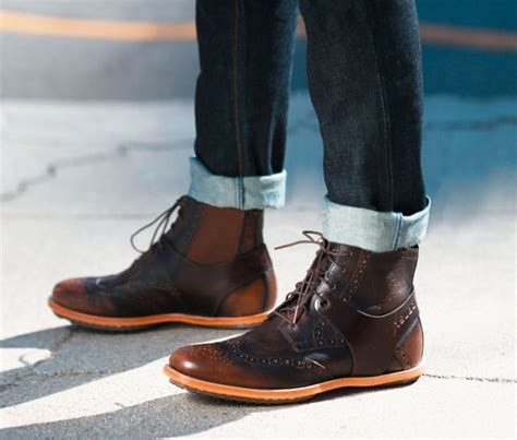 sepatu casual country boots denim question about malefashionadvice
