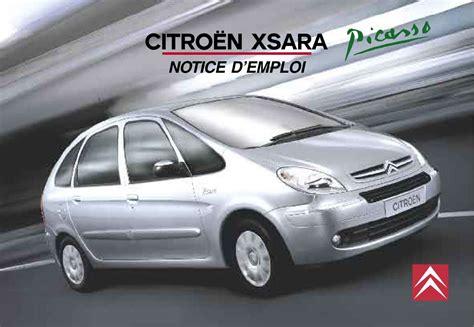 changer un siege de voiture mode d 39 emploi citroen xsara picasso voiture trouver une