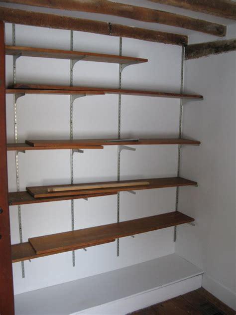 install adjustable shelving loccie  homes gardens ideas