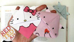 kitten bookmark  kitty red ted arts blog