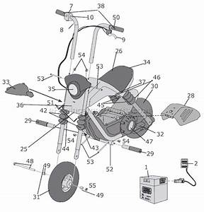 Power Wheels 73535 Parts List And Diagram