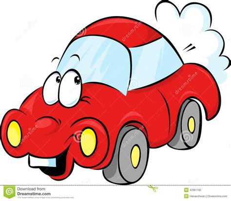 Funny Cartoon Car Clip Art