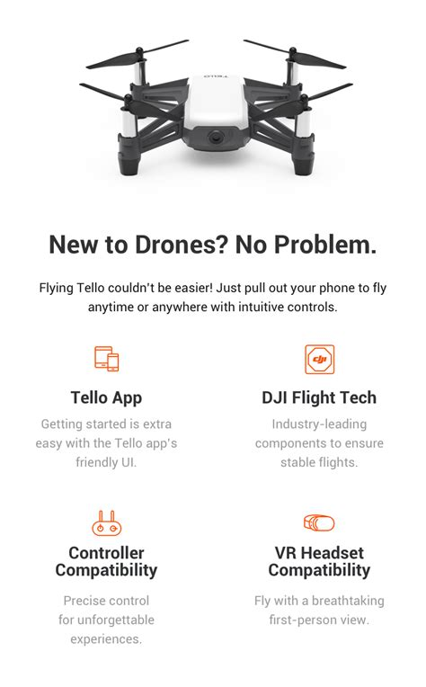 dji tello white wholesale drones dji splashdrone
