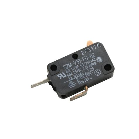 microwave door micro switch   parts sears partsdirect
