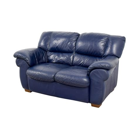 Navy Blue Leather Sofa And Loveseat by 80 Macy S Macy S Navy Blue Leather Loveseat Sofas