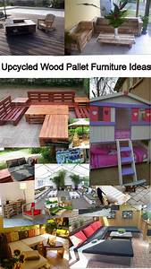 upcycled wood pallet furniture ideas pallet furniture