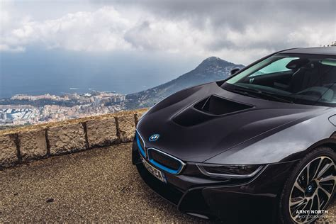 BMW i8, Black cars, Sports car, Monaco, Arny North ...