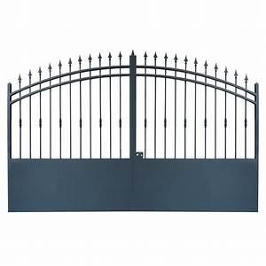 Portail Alu Battant 3m50 : portail cloture et portail fer avec portail coulissant et ~ Dailycaller-alerts.com Idées de Décoration
