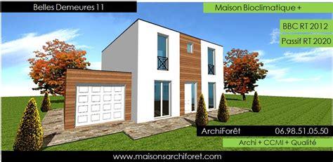 belles demeures constructeur de maisons classique ossature bois www maisonsarchiforet