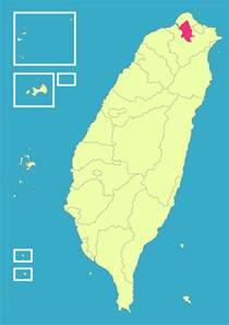 Taiwan Taipei City Map
