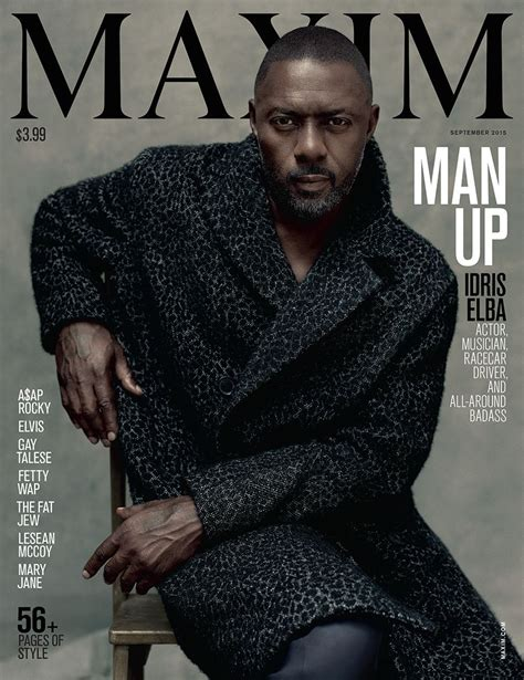 Check Out Idris Elba On the Cover of Maxim's September ...