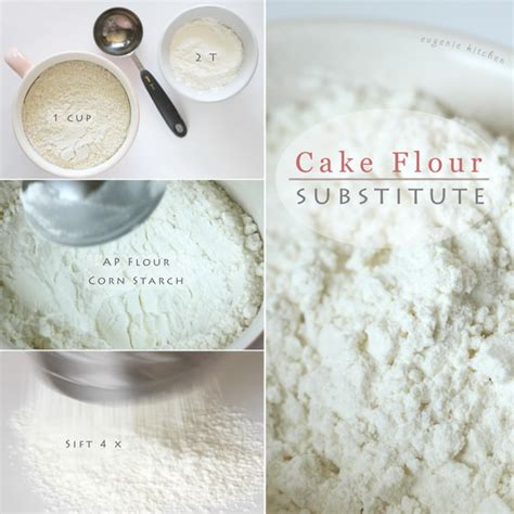cake flour substitute how to make cake flour homemade substitute recipe