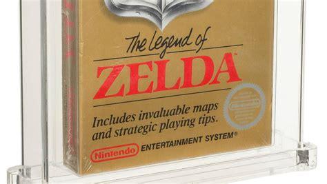 el juego sin abrir de legend  zelda de  se vende por  dolares