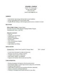 Paralegal Resume Summary Exles by 10 Sle Resume For Paralegal Position Writing Resume Sle