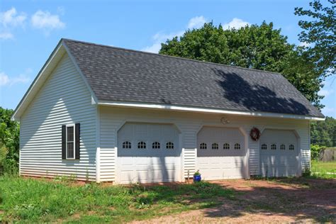 woodstock saltbox style single story garage the barn yard great country garages