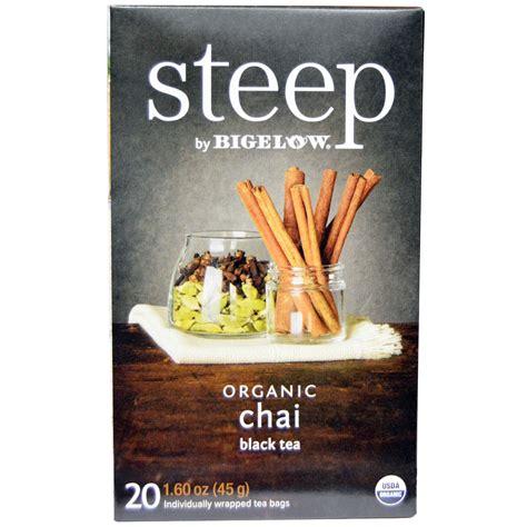 - Steep Organic Chai Black Tea #A17708
