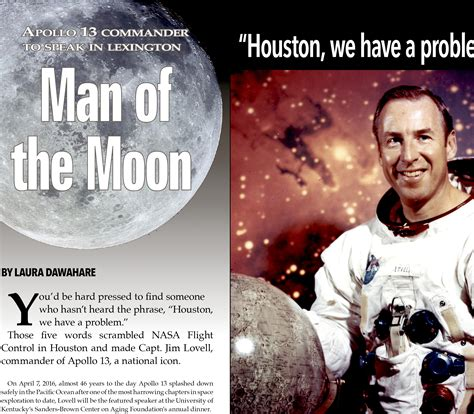Apollo 13 Commander Jim Lovell in Lexington KY | Ace Weekly