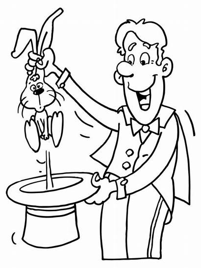 Magician Coloring Pages Getcolorings Designlooter Theme 800px