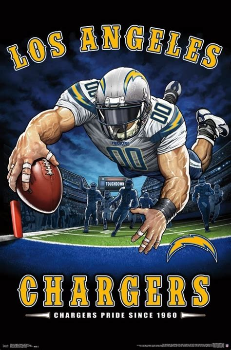 los angeles chargers  zone