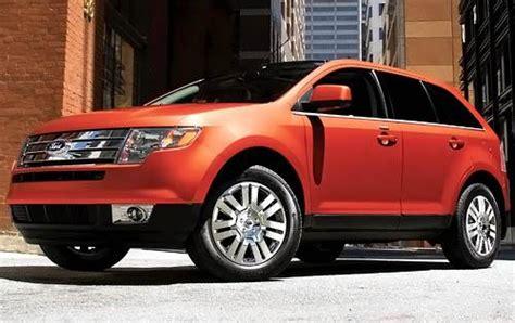 gas mileage   ford edge