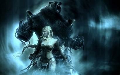 Magical Desktop Backgrounds Dark Beast Wallpapers Female