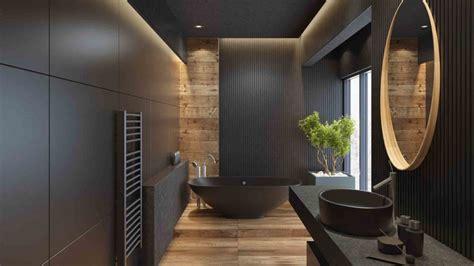 black bathroom trend  ways  bring