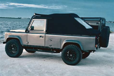 land rover defender  custom suv