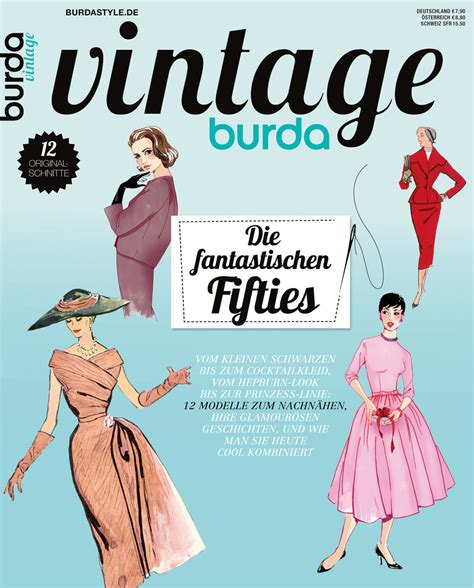 burda style special vintage 2014 sewing discussion
