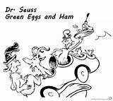 Ham Eggs Seuss Coloring Dr Goat Printable Could Sheets Template Getdrawings sketch template