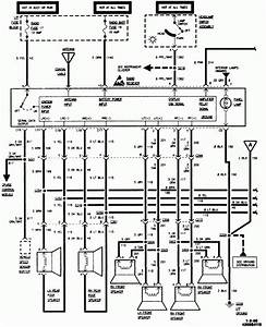 Original 1995 Chevy Silverado Radio Wiring Diagram Speaker