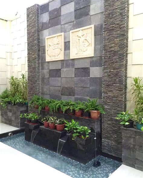 desain taman rumah halaman sempit contoh desain taman