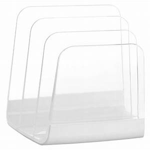 bravo acrylic mail organizer and sorter in file and mail With acrylic letter sorter