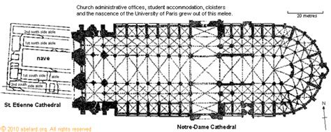 floor plans notre dame floor plan showing both the previous cathedral st etienne and the current cathedral notre