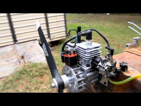weedeater rc engine running mike youtube