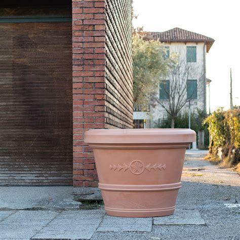 vasi giardino terracotta vaso gigante a conca classica teraplast