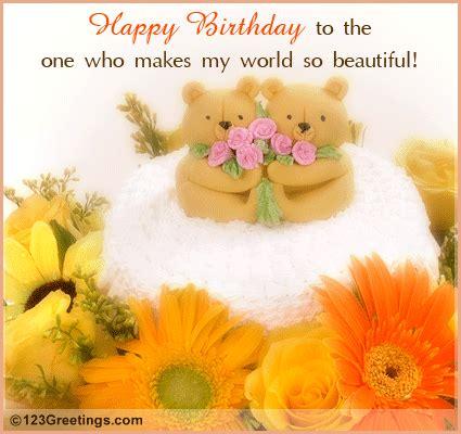 happy birthday   special  flowers ecards