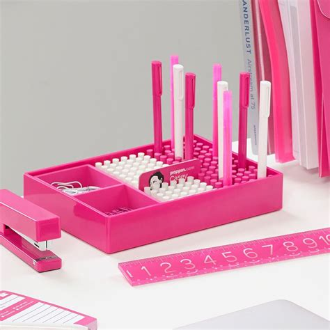 pink desk accessories 54 best images about office deco on offices