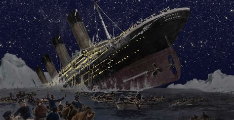 The Titanic Boat by The Sinking Of Rms Titanic