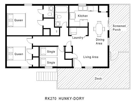 1 Story House Floor Plans Gurus Floor