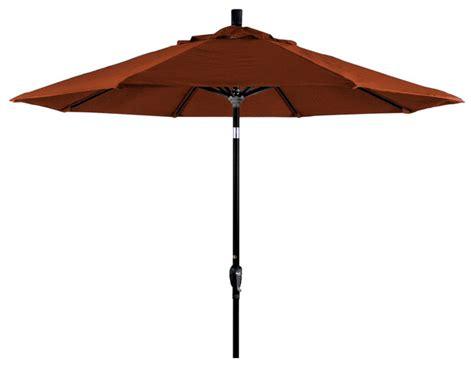9 aluminum market umbrella push tilt black sunbrella