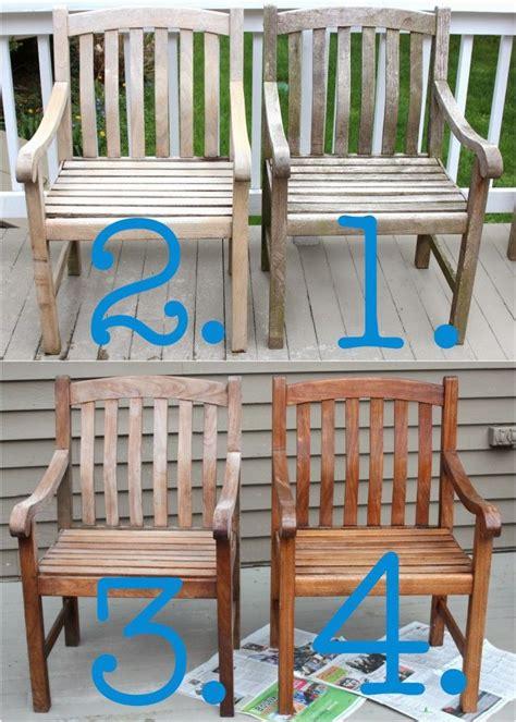 cleaning sealing outdoor teak furniture teak outdoor