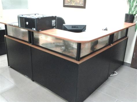 the complete privacy and security desk reference l shaped reception desk unit suite w privacy glass