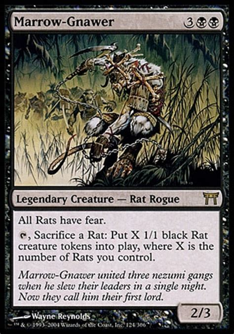 mtg relentless rat marrow gnawer edh other tcg
