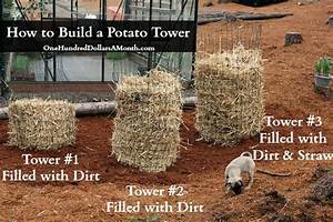 DIY - How to Build a Potato Tower - One Hundred Dollars a ...