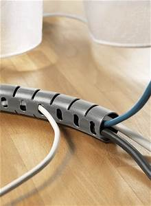 Rangement Cable Bureau : bon plan professionnel hellermanntyton ~ Premium-room.com Idées de Décoration